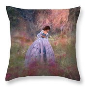 Impression Throw Pillow by Kylie Sabra