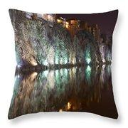 Impressiones At Mtkvari River Throw Pillow
