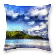 Impressionist Allatoona 2 Throw Pillow