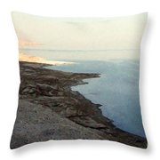 Impressionist Of The Dead Sea Throw Pillow