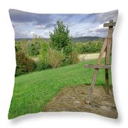 Impressionist Ready Throw Pillow
