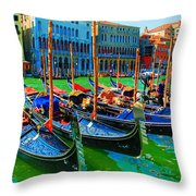 Impressionistic Photo Paint Gs 009 Throw Pillow