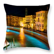 Impressionistic Photo Paint Gs 010 Throw Pillow