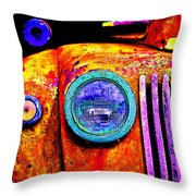 impressionistic photo paint GS 019 Throw Pillow by Catf