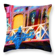 Impressionistic Photo Paint Ls 005 Throw Pillow