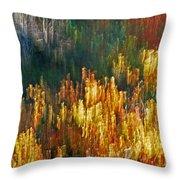 Impressionists Autumn Throw Pillow