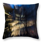 Impressions Of Mo M A Throw Pillow