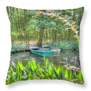 Impressions Of Monet Throw Pillow