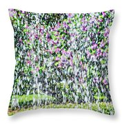 Impressions Of Spring 4 Throw Pillow