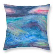 Impressions Of The Sea 2 Throw Pillow