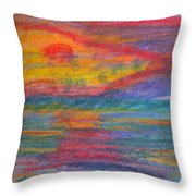 Impressions Of The Sea 3 Throw Pillow