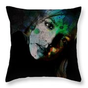 In A Britney Mood Throw Pillow