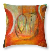 In A Bubble Throw Pillow