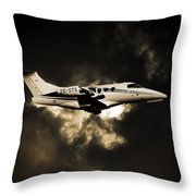 In A Cloud Throw Pillow