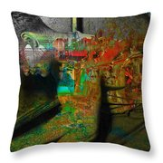 In A Day  Throw Pillow