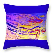 Seems Like We Are In A Flow Again Throw Pillow