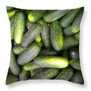In A Pickle Throw Pillow