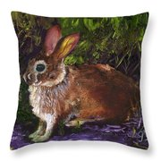 In A Safe Place Throw Pillow