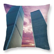 In All Her Glory Throw Pillow