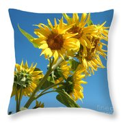 In All Their Glory Throw Pillow