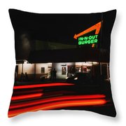 In And Out In Pasadena Throw Pillow