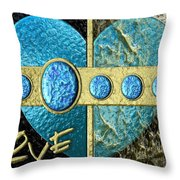 In And Out Of Love Throw Pillow