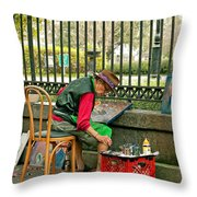 In Another World Throw Pillow