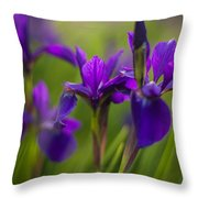 In Beautiful Company Throw Pillow