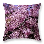 In Bunches Throw Pillow