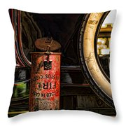 In Case Of Fire Throw Pillow