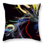 In Celebration Of Things Cerebral Throw Pillow