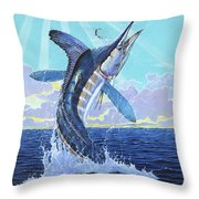 In Contention Off0049 Throw Pillow by Carey Chen
