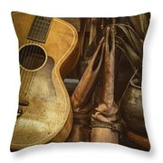 In Cowboys Dreams Throw Pillow