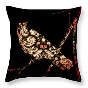 In Damask Throw Pillow