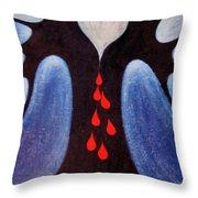 In Despair Throw Pillow