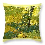 In Due Time Throw Pillow
