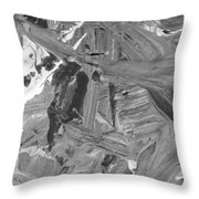 In Fighting Throw Pillow