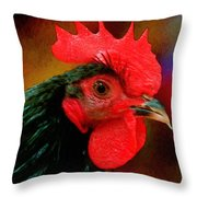 In Fine Fettle Throw Pillow