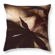 In First Position Throw Pillow