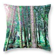 In For A Big Surprise Throw Pillow