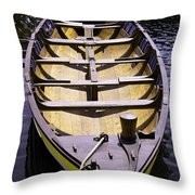 In For The Season Throw Pillow