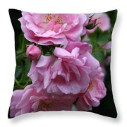 In Full Blow Throw Pillow