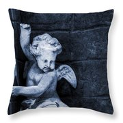 In Heaven's Garden Throw Pillow