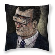 In His Mind Throw Pillow