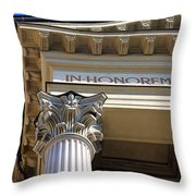 In Honorem Throw Pillow