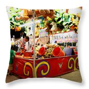 In It To Win It Or Fair Game In Red Throw Pillow