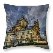 In Joy And Sorrow Throw Pillow