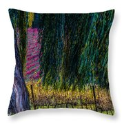 In Leaf Fall Throw Pillow