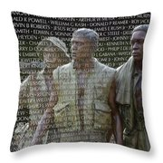 In Life And Death Throw Pillow