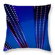 In Lights Abstract Throw Pillow